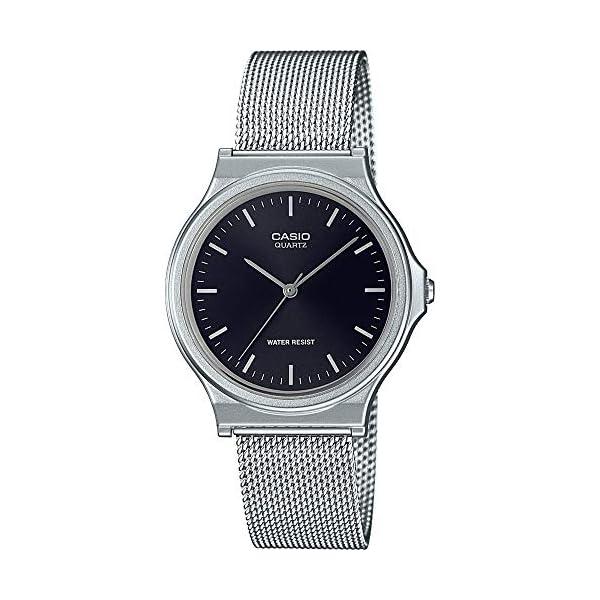 Casio Reloj Analógico para Unisex Adultos de Cuarzo con Correa en Acero Inoxidable MQ-24M-1EEF 51MKxJ62 GL