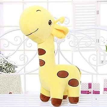 Fashion Children Cute Gift Stuffed Toy Animal Deer Doll 18cm Plush Giraffe Baby