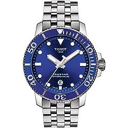 Tissot Seastar 1000 Automatic Chronometer Blue Dial Mens Watch T120.407.11.041.00