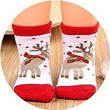 YEAPOOK Baby Christmas Socks Cute Cartoon Cotton