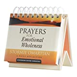 DaySpring Stormie Omartian's Prayers for Emotional Wholeness, DayBrightener Perpetual Flip Calendar, 366 Days (11851)