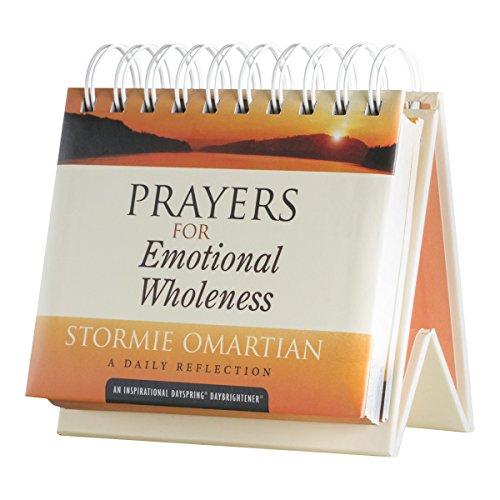 - Flip Calendar - Prayers for Emotional Wholeness - Stormie Omartian