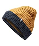 The North Face Kids Unisex Waffle Beanie (Big Kids) Golden Brown/Cosmic Blue SM