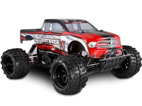 Redcat Racing Rampage XT Gas Truck, Red, 1/5 Scale - Gas Power Rc Truck