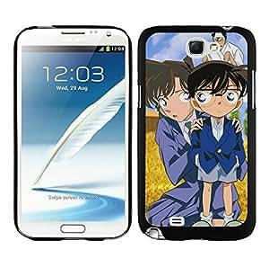 Fashionable Detective Conan 10 Black Samsung Galaxy Note 2 Case