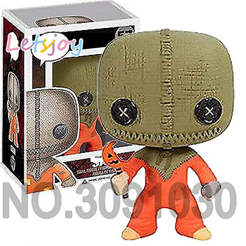WOIA Trick 'R Treat Sam V for Vendetta Horse Terrifying Movie Doll Cute Pennywise Saw Billy Chucky Scream Ghostface Hand-Do Teen Must Haves BFF Gifts My Favourite Superhero Party Supplies