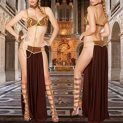 sandywident Roman Egyptian Ladies Halloween Fancy Dress Adult