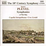 Pleyel: Symphonies (1778-1786)