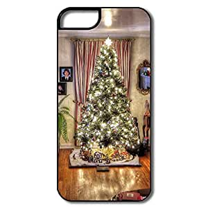 New Design Covers Geek Room Golden Christmas Tree For IPhone 5/5s
