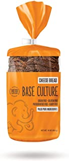 product image for Base Culture Keto Bread | Cheese, 100% Paleo, Gluten Free, Grain Free, Non-GMO, Dairy Free, Soy Free and Kosher | 16oz Loaf…