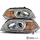 2005 acura mdx headlight assembly - For 2004-2006 MDX Chrome Housing Projector Headlights Assembly Replacement LH+RH Set Pair Left+Right/2005