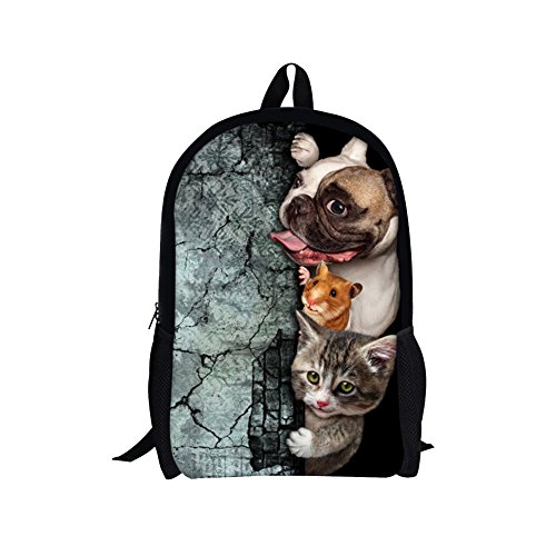 TOREEP Creative Cat Dog Printed Multifunctional Men Women Casual - Buy Can Vogue Where I