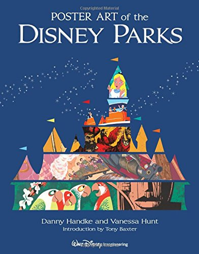 Red Poster Book (Poster Art of the Disney Parks (A Disney Parks Souvenir Book))