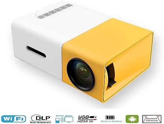 shengshiyujia YG300 HD Mini proiettore Oficina en casa proiettore ...
