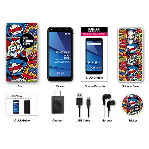 BLU Studio View - 5.5'' HD Unlocked Smartphone -16GB+1GB RAM- Black by BLU (Image #6)