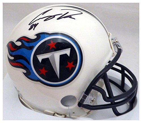 Corey Davis Autographed Signed Tennessee Titans Mini Helmet - Beckett Authentic ()