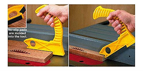 Patented Table Saw and Router Table Push Block, Shoe, Stick with non-slip pads by Unknown