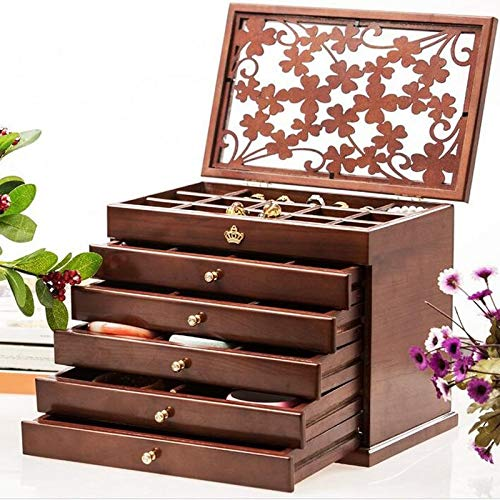 Drawers Wood - 6pcs Luxury Hollow Out Female Large Jewelry B