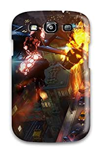 Lisa Rooss's Shop Durable Defender Case For Galaxy S3 Tpu Cover(sunset Overdrive)