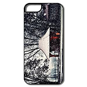 Amazing Winter Hot Plastic Case For IPhone 5/5S iphone cover cover for iphone for girls