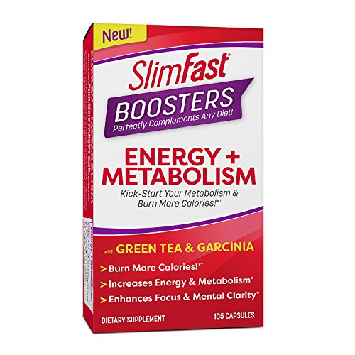 Slimfast Boosters Energy + Metabolism 105 count