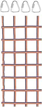 Red de escalada de carga para escalada, red de escalada, red ...