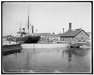 Amazon.com: HistoricalFindings Photo: Dry dock number 2
