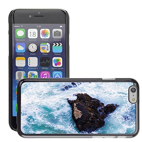 """Stampato Modelli Hard plastica Custodie indietro Case Cover pelle protettiva Per // M00421765 Ocean Rocher Mer Nature Voyage eau // Apple iPhone 6 4.7"""""""