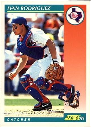 Amazoncom 1992 Score Baseball Card 700 Ivan Rodriguez