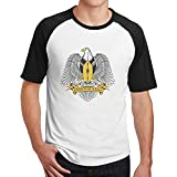 Coat of Arms of South Sudan Mens Hip Hop Cotton 3D Print Short Sleeve T-Shirts