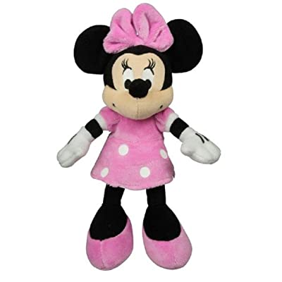 "Disney 9"" Plush Minnie Mouse - Pink Outfit: Toys & Games"