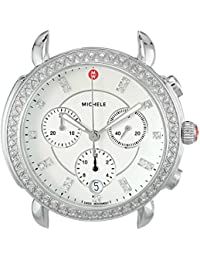 Women's 'Sidney Head' Swiss Quartz Stainless Steel Casual Watch, Color:Silver-Toned (Model: MW30A01A1046)