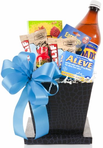 Amazon.com : Basket Affair - New Dad's Survival Kit Gourmet Gift ...