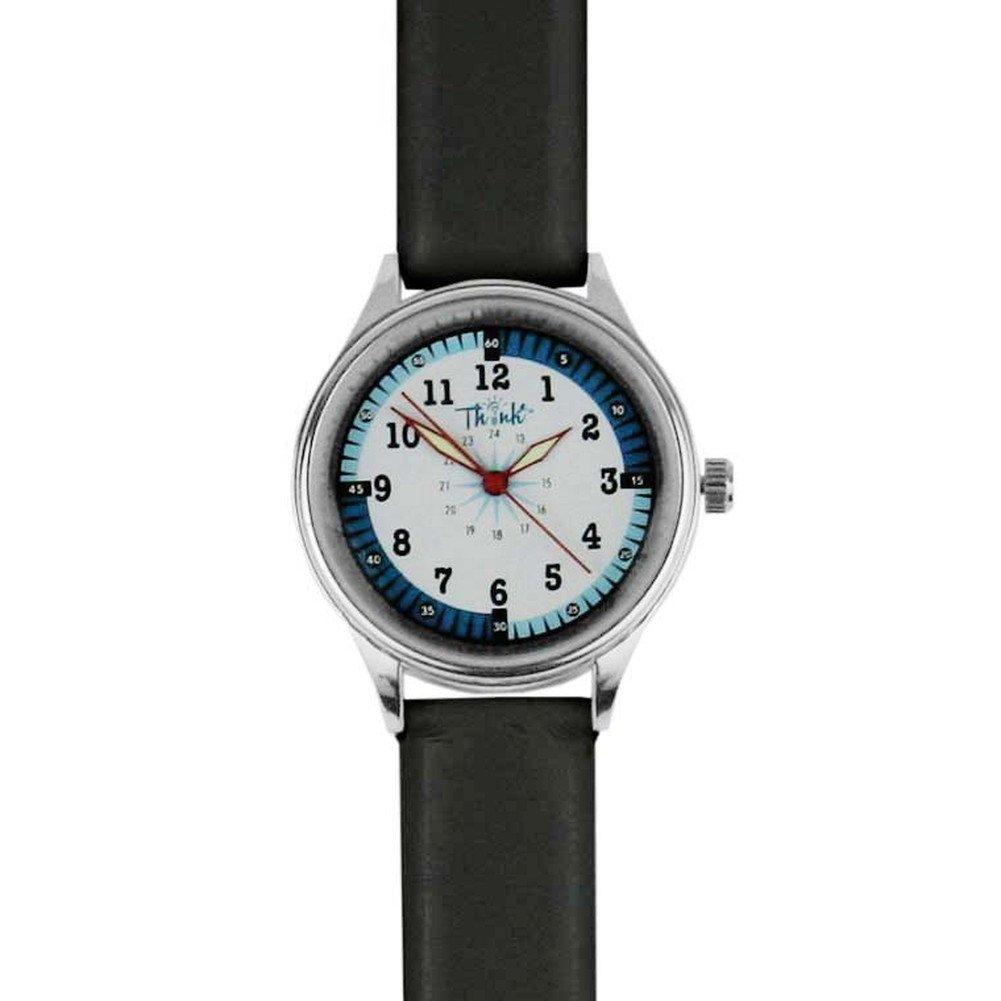 Think Medical Nurse Leather Mid Size Quadrant Watch (Black)