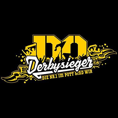 """T-Shirt Dortmund """"DERBYSIEGER"""" Ruhrpott Dortmund Derbysieg Derby Sieg"""