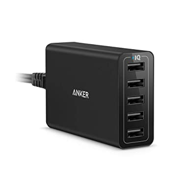Usb Charging Hub >> Anker Usb Charger Powerport 5 Multi Port Wall Charger Amazon Co Uk