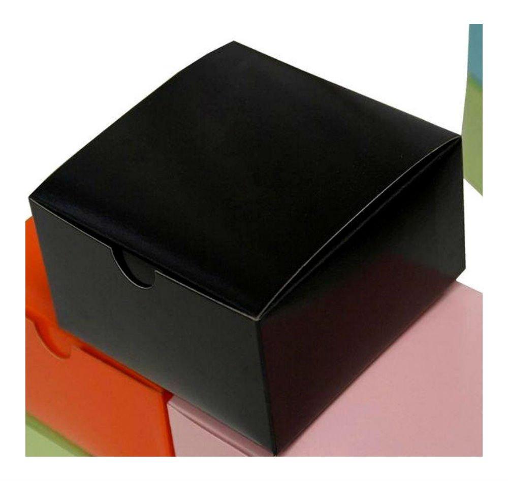 【超特価sale開催!】 4インチx4インチx2インチ ブラックケーキ 結婚式 ブラックケーキ 記念品 タックトップパーティーギフト ギフトセット B07CJJXP6W 100枚 結婚式 B07CJJXP6W, こっとんてーる:562ec3c4 --- a0267596.xsph.ru