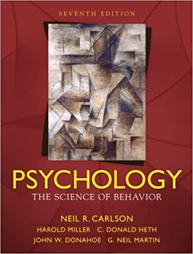 Amazon psychology the science of behavior 7th edition amazon psychology the science of behavior 7th edition 9780205547869 neil r carlson harold l miller jr donald s heth john w donahoe fandeluxe Image collections