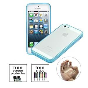EasyBuy Tech™Apple iPhone 5 / 5S Slim Fit Skin Cover TPU Bumper Case