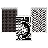 Tops Fashion Steno Book, Assorted Black/White Cover, 6 x 9 Inches, We, 80 Pages, 6 Books per Pack (90226)