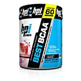 BPI Sports Best BCAA - BCAA Powder - Branched Chain Amino Acids - Muscle Recovery - Muscle Protein Synthesis - Lean Muscle - Improved Performance – Hydration – Watermelon Ice - 60 Servings, 1.32 Pound