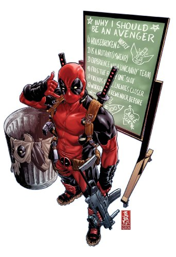 Uncanny Avengers #1 Deadpool Call Me Maybe Variant Cover Now