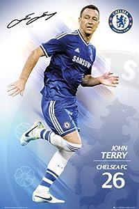 GB Eye Limited Chelsea FC John Terry 2013 2014 Soccer Football Sports Cool Wall Decor Art Print Poster 24x36