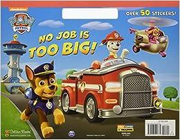 no job is too big paw patrol big coloring book - Big Coloring Books