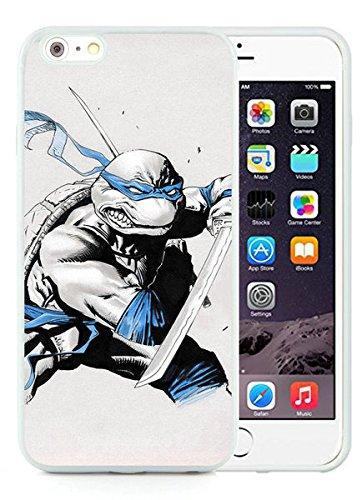 Teenage Mutant Ninja Turtles(1) White iPhone 6 Plus 5.5 inch TPU Cellphone Case Luxurious and Newest Design
