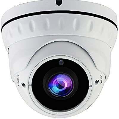 2MP Sony Exmor Sensor TVI/AHD/CVI/1000tvl 2.8mm-12mm Varifocal CCTV Camera, Honic 1080P HD Zoom Day Night Vision IR Dome Security Cameras, Waterproof Outdoor Analog Cam Video Surveillance from honic