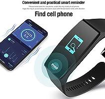 Lacyie Pulsera de Actividad Inteligente Mujer Hombre,Presión Arterial y Ritmo Cardíaco Fitness Tracker de Deporte Impermeable Reloj Fitness ...