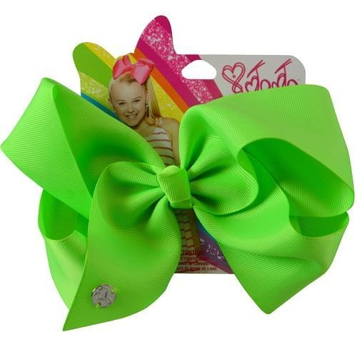Price comparison product image JoJo Siwa Signature Collection Hair Bow Neon Green