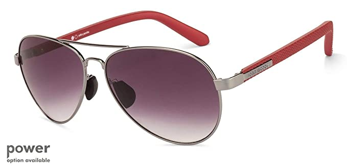 13c93e2bfd Image Unavailable. Image not available for. Colour  John Jacobs Full Rim  Aviator Unisex Sunglass ...
