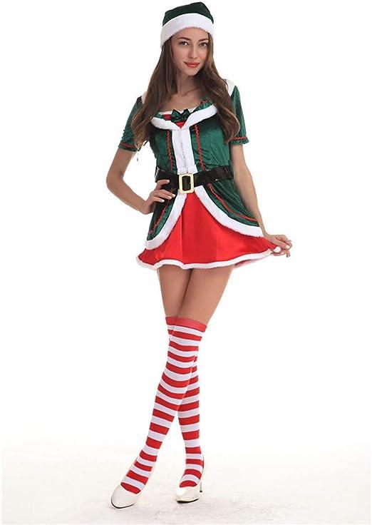Yamyannie-Accessories Disfraz de Navidad, Traje de Duende de ...